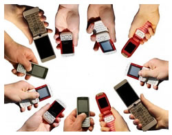 Many mobile phones